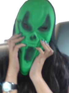 depressed scary mask