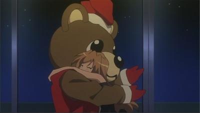 Taiga & Santa Bear