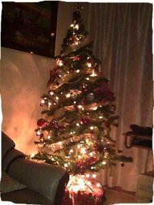 recycled xmas tree